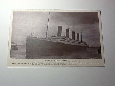"""""""the Titanic """" Photograph From The Rotary Collection"""
