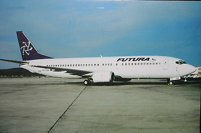 AK Airliner  Postcard FUTURA B.737 airline issue I