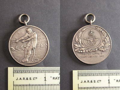 c1946 RAF Fighter Command Tug of War Championships Medallion