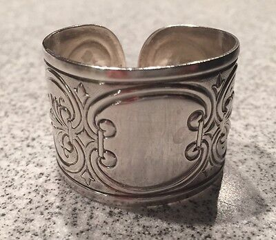 Vintage Towle Silver EP Napkin Ring Holder No Inscription