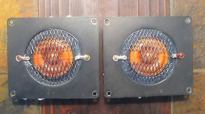 Pair of Large Advent OEM Replacement Fried Egg Tweeters - Excellent Condition