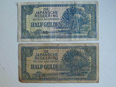 gULDEN BANK NOTES JAPANESE WW2