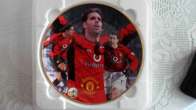 Manchester United, Danbury Mint Fine Porcelain Plate, Ruud Van Nistelrooy