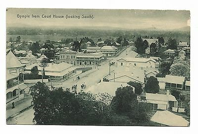 Gympie c1915 Police St'n Post+Lands Offices Methodist Ch from Gympie Court House