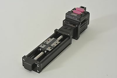 Animatics SM2315DT-BRKETH SmartMotor W/ Rexroth R021KK3099 Slide Table