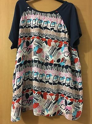 Maternity Blooming Marvellous Mothercare Top Size 16