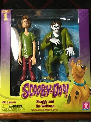 Scooby-Doo Series 1 Shaggy and the Wolfman 2-Pack Figures New