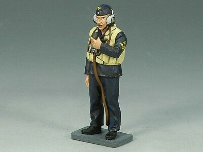 King & Country Soldiers KM005 Kriegsmarine Radioman 1/30 Scale Collectible