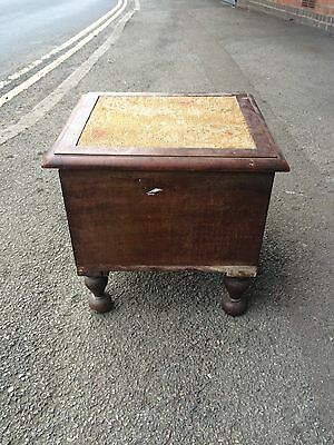 Antique Victorian Mahogany Step Commode Concealed Bedroom Stool Chamber Pot