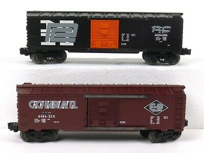 Lionel 6-29286 6464 Overstamp Box Car 2 Pack O Scale Model Trains Railroads