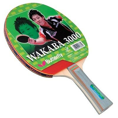Butterfly Wakaba 3000 Table Tennis Racket Ping Pong Paddle w/ FREE Shipping