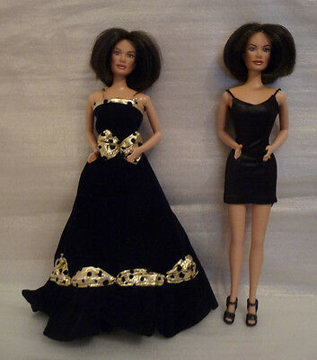Two Spice Girls Posh Spice Victoria Beckham Dolls - Galloob