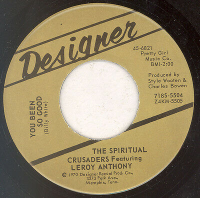 "THE SPIRTUAL CRUSADERS ""You Been Good"" DESIGNER"