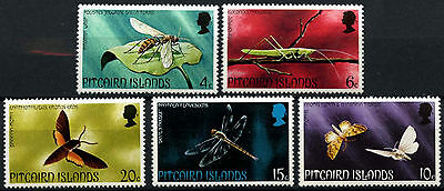 Pitcairn Islands 1975 SG#162-6 Insects MNH Set #D42485