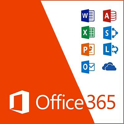 Microsoft Office 365 Personal subscription for 5 Users Windows or Mac Reduced