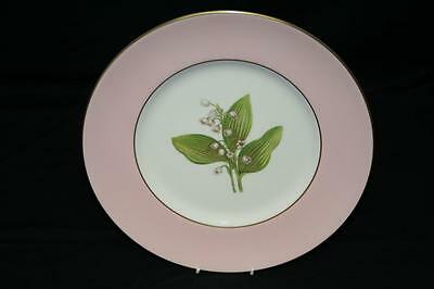 A Super Royal Worcester Dinner Plate - Lily Of The Valley - 1957 - Williamson