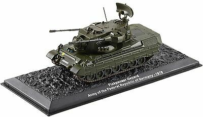 Flakpanzer Gepard German Army 1979 1-72 scale new in case sealed
