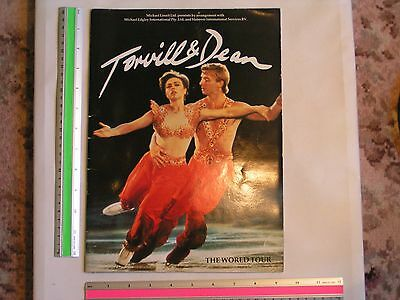 Torvill And Dean 1985 First World Tour Large Brochure
