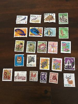 24 South African Stamps