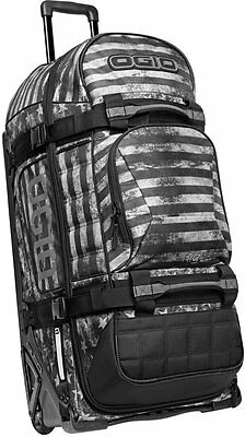 OGIO Rig 9800 Special Ops Wheeled Gear Bag Black/White