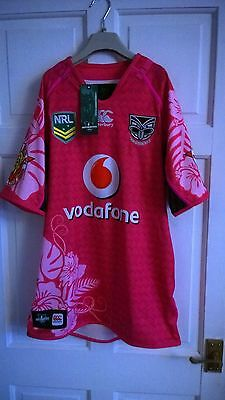new zealand warriors shirt {new with tags}