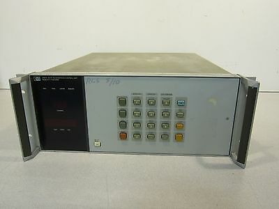 HP 3497A Data Acquisition/Control Unit with (3) HP 44421A (1) HP 44428A