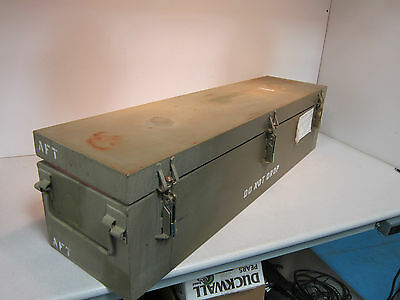 """Steel Storage Container Dimensions 50""""x 14""""x 12.5"""" Secure for tools! Great Deal!"""