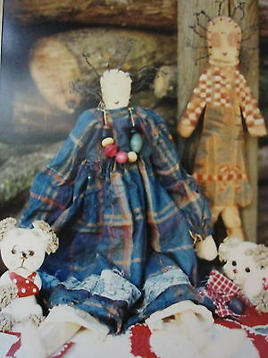 """  JOSEPHINE JUNE ""  Cloth Doll Pattern by Hickety Pickety"