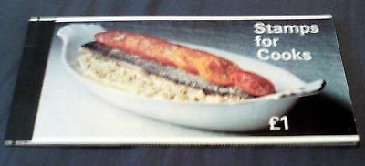 """Great Britain """"stamps For Cooks"""", Pre-Decimal Mnh Booklet, Complete."""