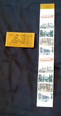 2 1980 Sweden Swedish Stamp Booklets, Complete With Unmounted Mint Stamps.