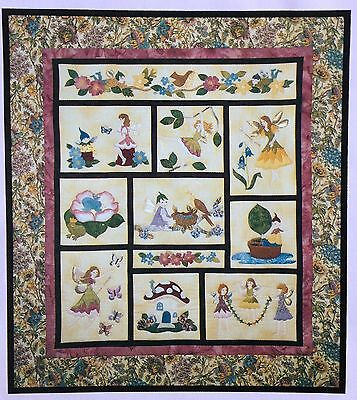 Enchanted Garden Fairies Quilt Kit