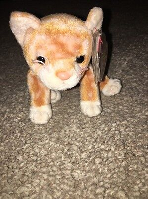 Ty Beanie original baby Amber Tag Protector