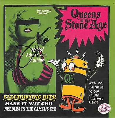 "Queens of the Stone Age - Make It Wit Chu [SIGNED Ltd Ed 7"" with sticker]"