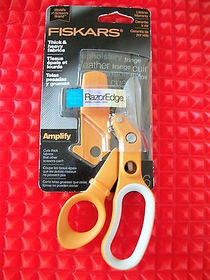 Fiskars Amplify Technology  RazorEdge Shears with Life Time Warrenty