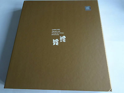 London 2012 Games 4 x Olympic & Paralympic Ceremony Programmes BOX SET