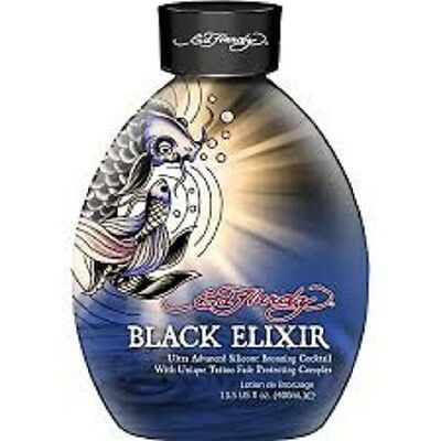 Brand New ED HARDY EH Black Elixir 13.5 oz. Tanning