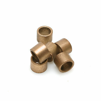 "1/2"" Outside, 3/8"" Inside Diameter, 3.8"" Long Brass Bearing Pack of 6"