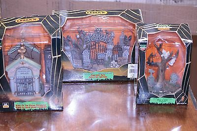 Lemax Spooky Town Assorted Graveyard Pieces