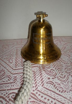 Collectable H.m.a.s Sydney Solid Brass Door/wall/ship Bell .