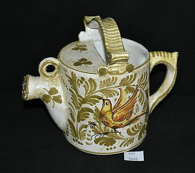 ThriftCHI ~ Hand Painted Ceramic Watering Can