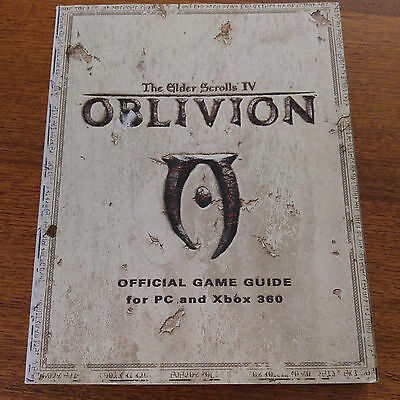 Oblivion Official Game Guide For PC & Xbox 360 2006