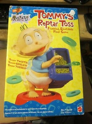 Rugrats Tommy Reptar Toss, Electronic Game, Nickelodeon, New in Box