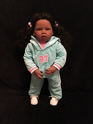 "Lee Middleton AA Toddler 24"" Doll By Reva Schick"