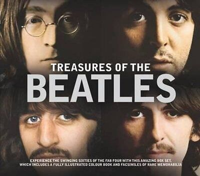 Treasures of The Beatles by Terry Burrows Hardcover Book
