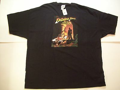 INDIANA JONES AND THE TEMPLE OF CHOCOLATE M&M SHIRT with tags BLACK ADULT XXXL