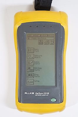 Fluke OneTouch 10/100 Network Assistant - Working