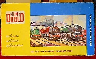 Hornby Dublo 2014 The Talisman 2 Rail 00 Gauge Train Set 1960's  Made In England