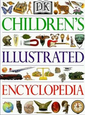 The Dorling Kindersley Children's Illustrated Encyclopedia Hardback Book The