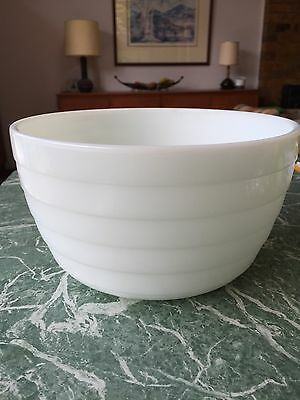 Vintage Westinghouse Large Milk Glass Mixing Bowl~Electric Mixers~Beehive
