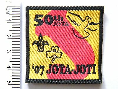 2007 JOTA Badge (50th Jamboree On The Air & 100 year of Scouts) Official Badge